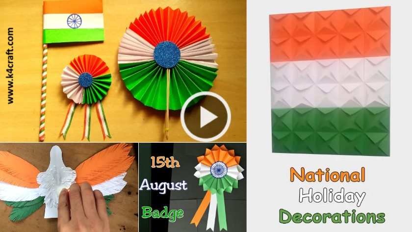 Independence Day Craft Ideas For Kids K4 Craft