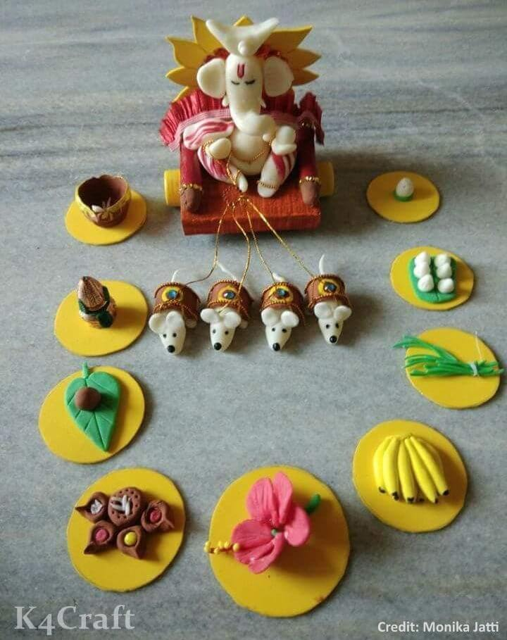 Amazing Clay Art for Ganesh Chaturthi Easy Craft Ideas To Celebrate Ganesh Chaturthi with Kids