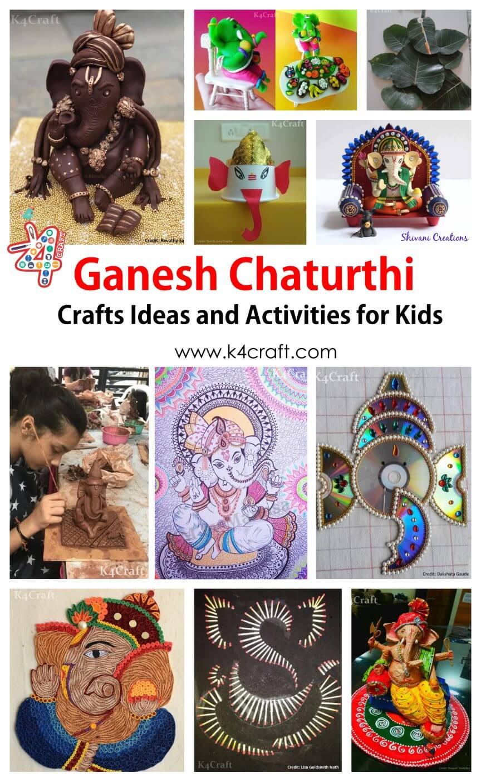 Ganesh ChaturthiCraft Ideas and Activitiesfor Kids