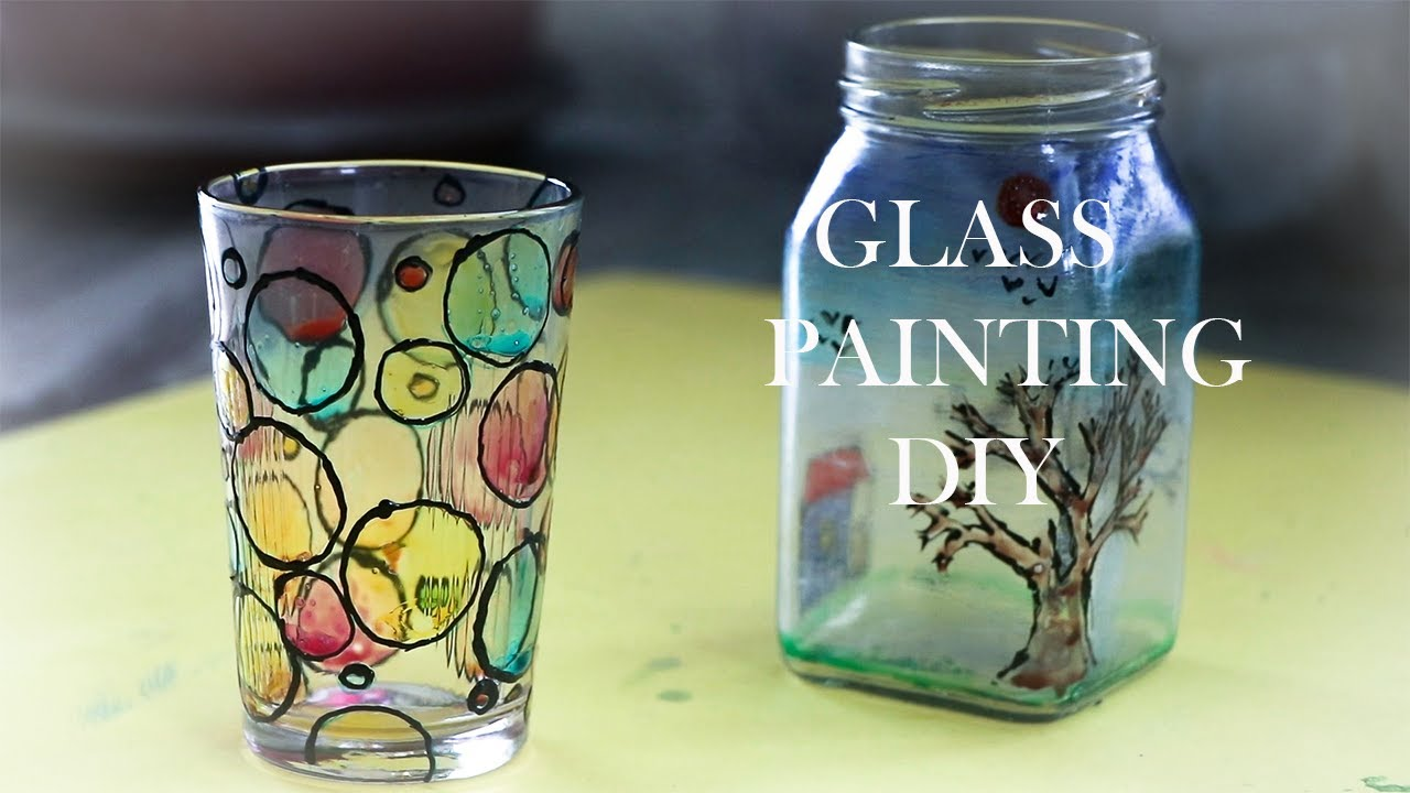 Learn Glass Painting at Home in Simple Steps