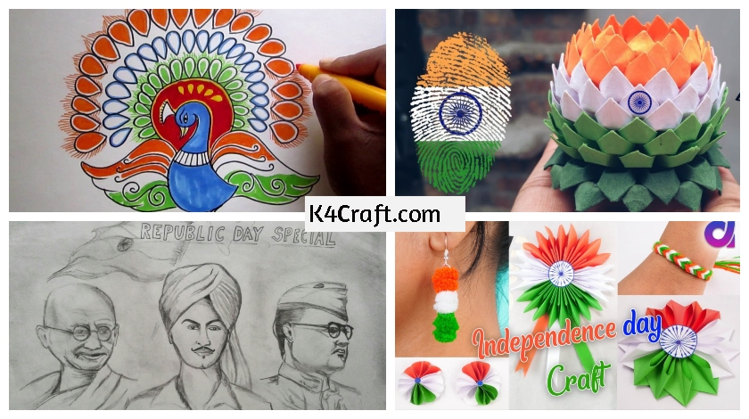 Creative Republic Day Drawing Creative And Colourful Drawing On Independence Day And Republic 5029253