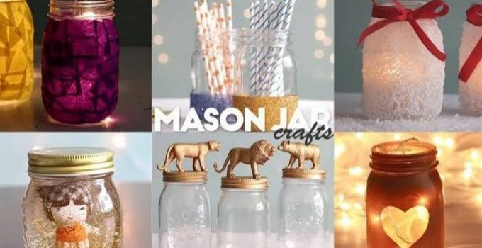 Easy To Make Mason Jar Decorative Ideas K4 Craft