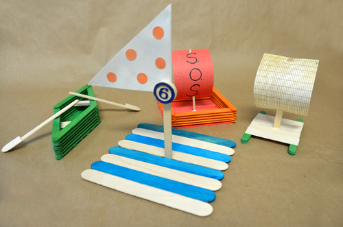 Popsicle Stick Boat Craft for Summer Easy Popsicle Stick Crafts & Activities for Kids