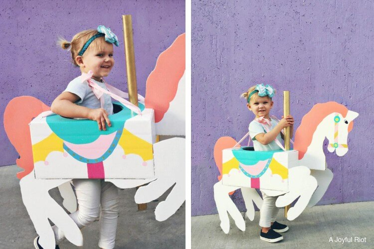 Carousel Horse Costume DIY Fun Painting Ideas for Kids
