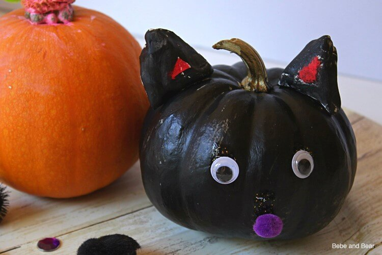 Creative Cat Pumpkins for Kids Fun Painting Ideas for Kids