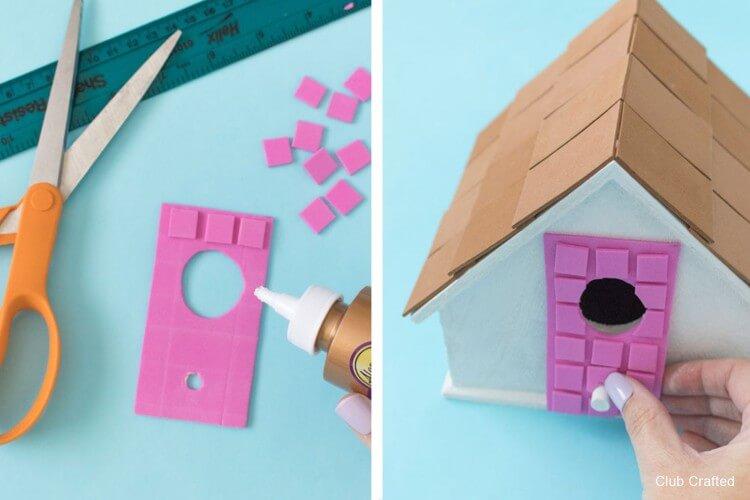 Pink Door DIY Palm Springs Birdhouse