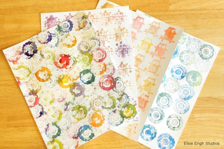 Watercolor Stamps Fun Painting Ideas for Kids
