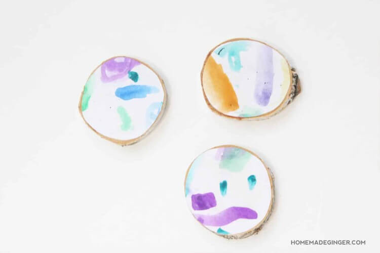 Art Coasters Fun Painting Ideas for Kids