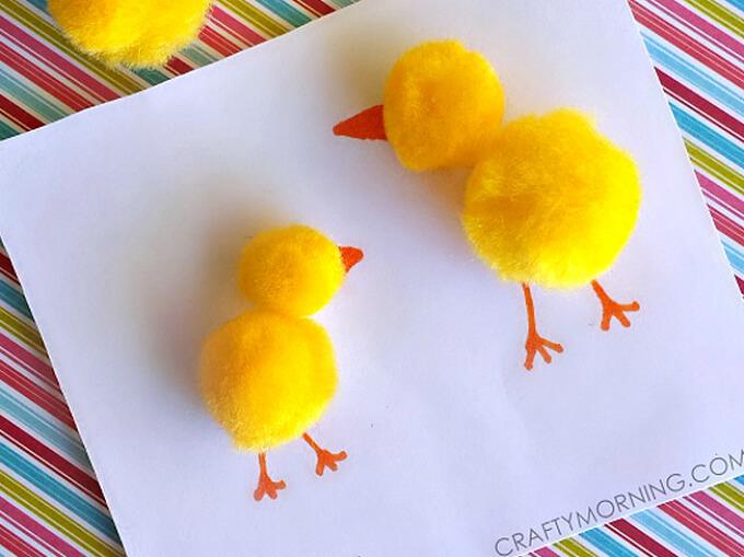 Pom Pom Chick Design