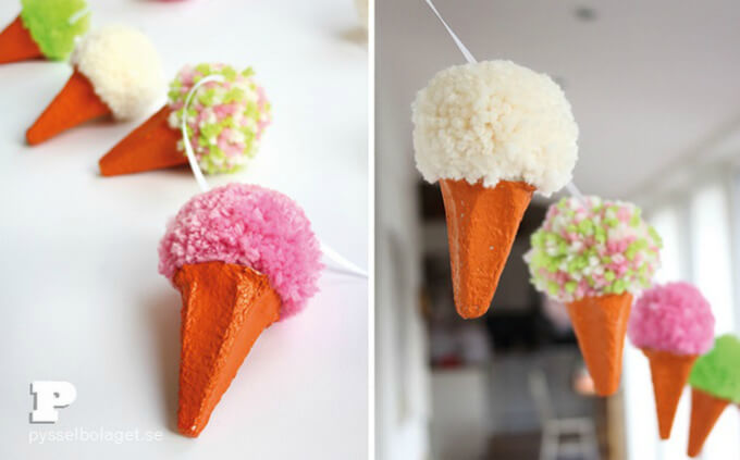 Ice cream Cone Hangings