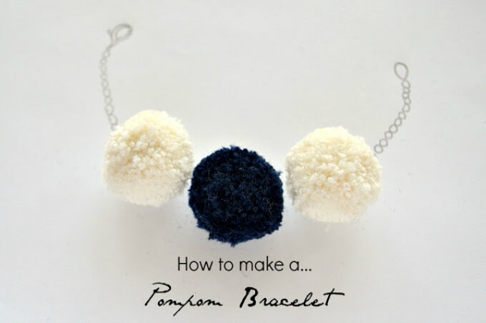 Pom Pom Bracelet