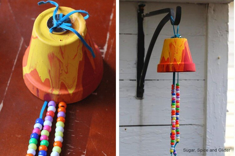 Garden Wind Chimes Fun Painting Ideas for Kids