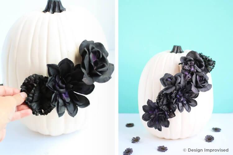 Flowery Pumpkins