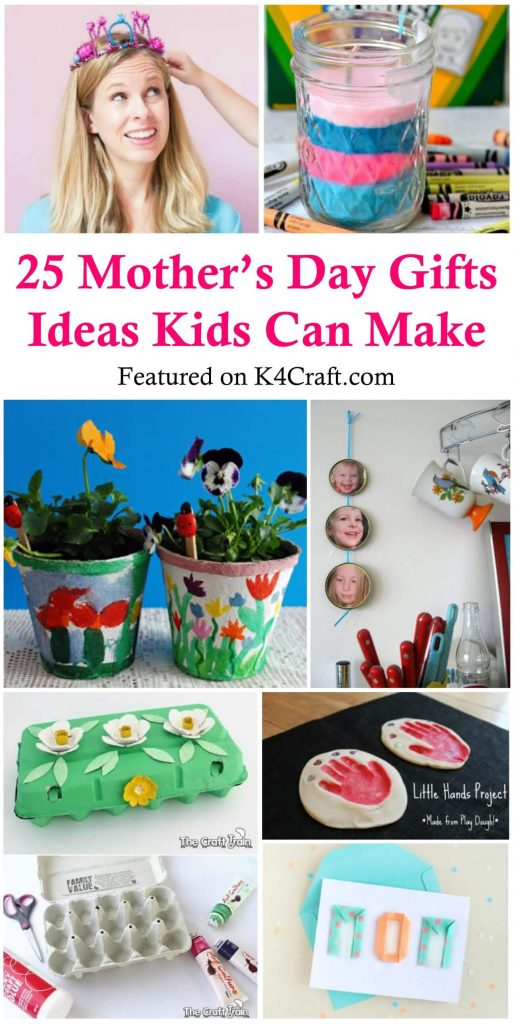 Adorable Mother's Day Crafts for Kids  Easy Mother's Day Gifts Ideas Kids Can Make