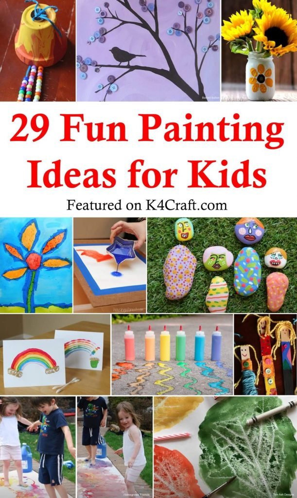 Fun Painting Ideas for Kids