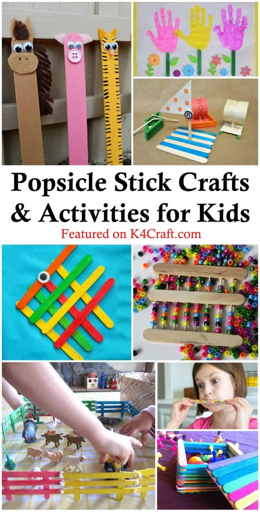 Fun Popsicle Crafts You Can Make With Your Kids Easy Popsicle Stick Crafts & Activities for Kids
