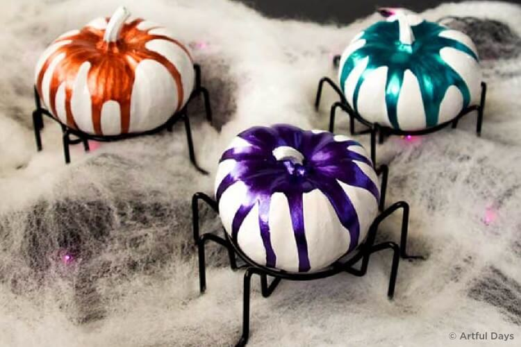 Drippy spiders