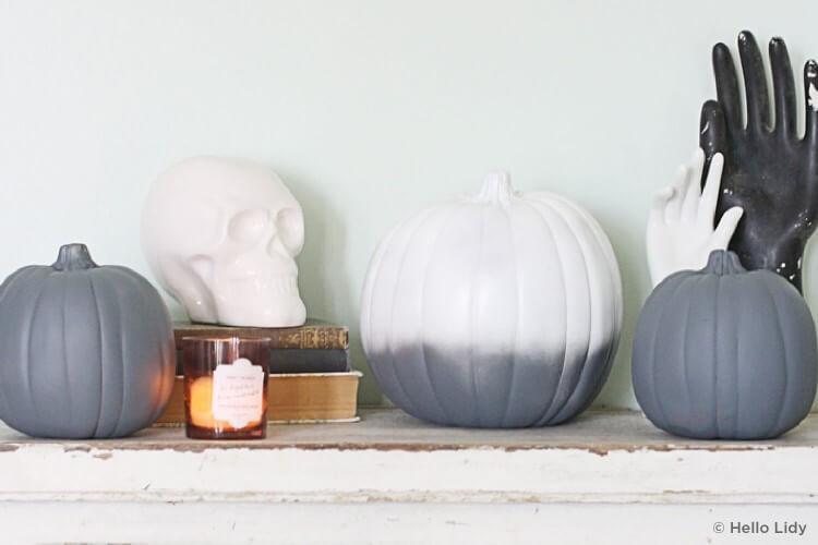 Monochrome pumpkins