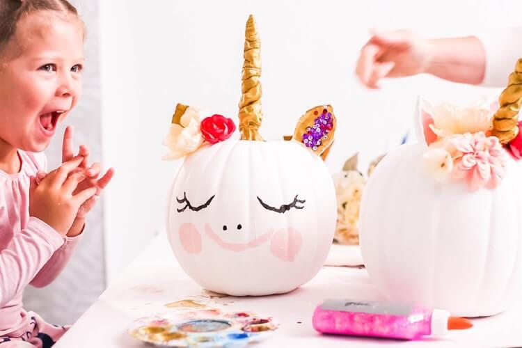 Unicorn Pumpkin