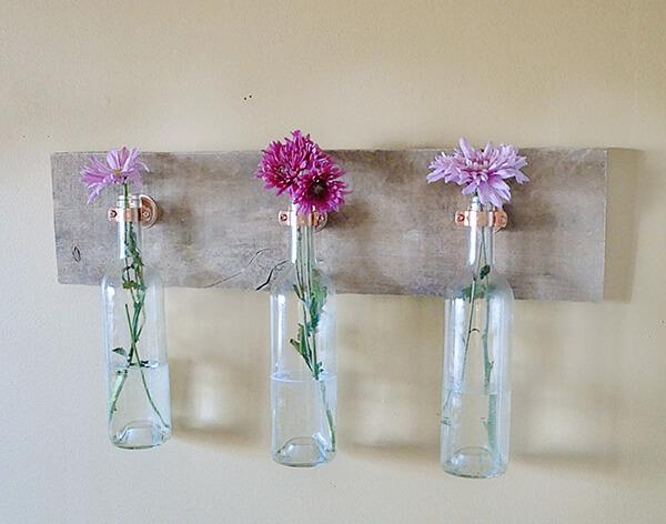 Old Wine Bottles Crafts for Home Decor Wine bottle vases