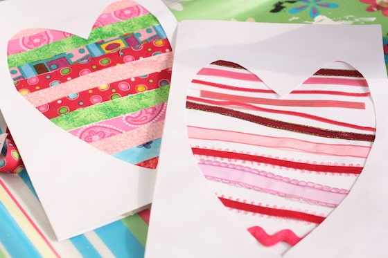 Cards Using Ribbons - Mother's Day Craft Ideas For Kids