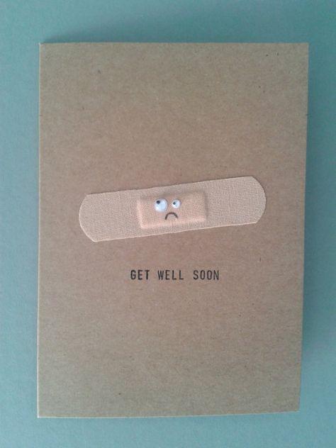 """DIY Get Well Soon Card Beautiful DIY """"Get Well Soon"""" Card Ideas"""