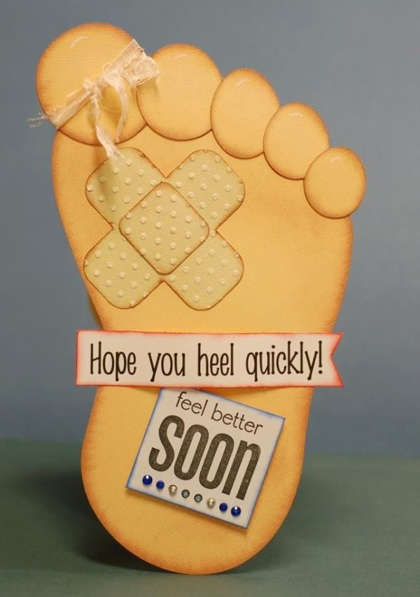 "Unique Get Well Soon Card Beautiful DIY ""Get Well Soon"" Card Ideas"
