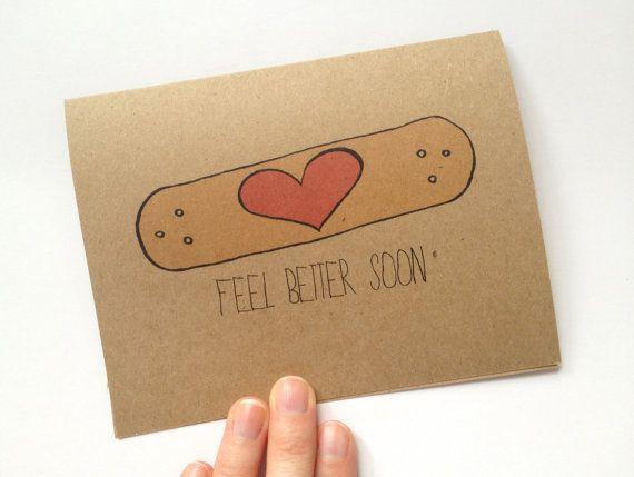 "Band-aid Get Well Soon Card Beautiful DIY ""Get Well Soon"" Card Ideas"