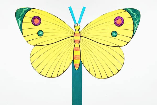 Beautiful butterfly craft for Children spring