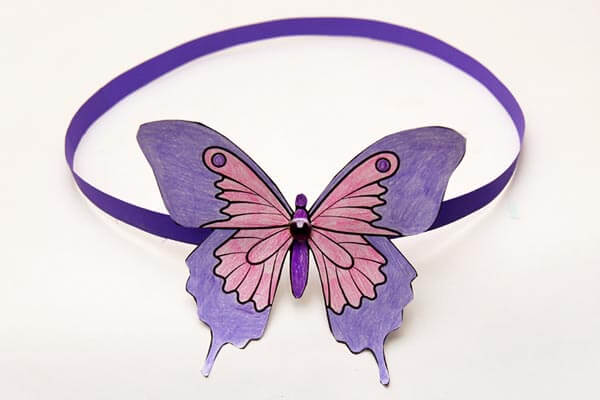 Butterfly headband ideas for kids Spring Craft Ideas for Kids with Easy Tutorials