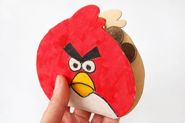 Angry Bird Recycled Instrument