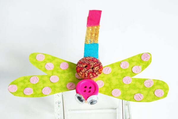 Dragonfly craft making ideas for kids Spring Craft Ideas for Kids with Easy Tutorials