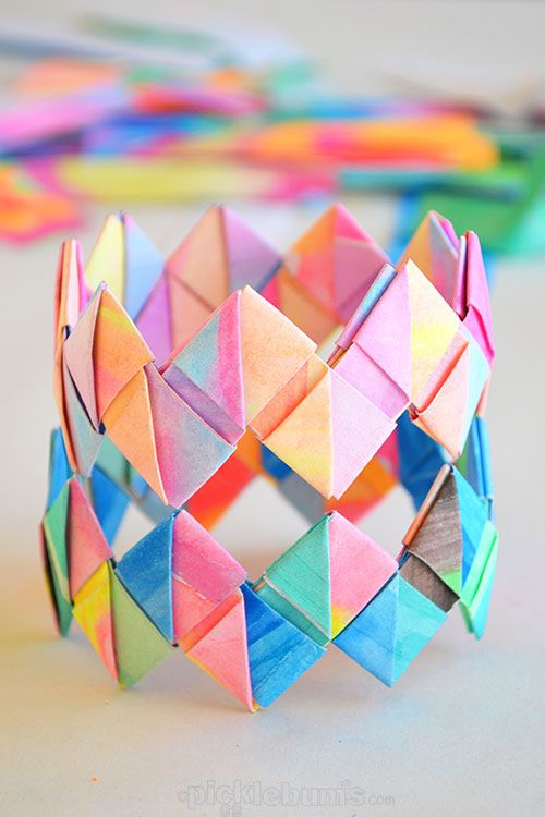 simple origami craft for kids