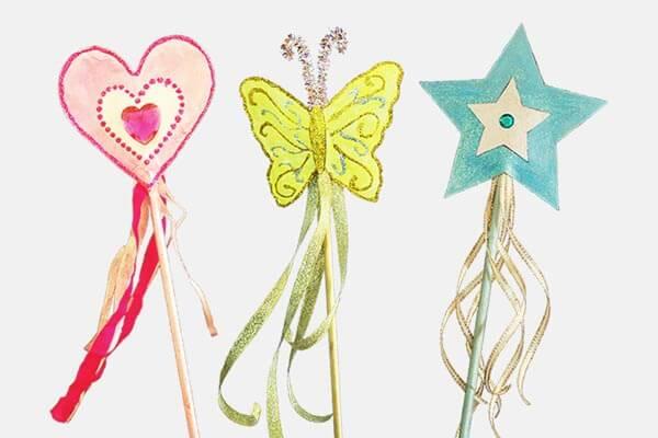 Beautiful fairy wands