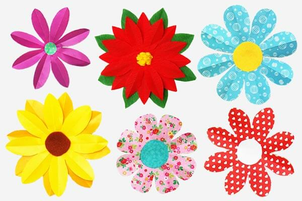 Paper flowers for 10-year olds