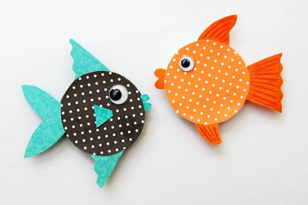 Easy To Make Recycled Fish Crafts