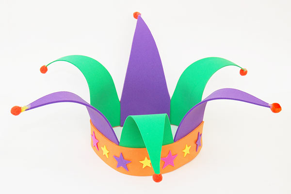 Clown DIY hat for kids DIY Party Hats for Toddlers | Birthday & Festivals