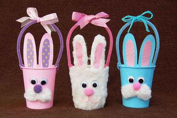 Easter Recycled Material Crafts