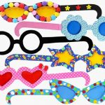 Goofy Spectacles fun Birthday Party Craft Ideas