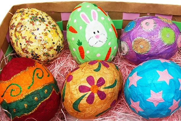 Easter Egg Recycled Craft Ideas