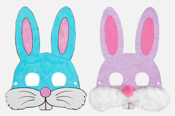 Easter bunny crafts Spring Craft Ideas for Kids with Easy Tutorials