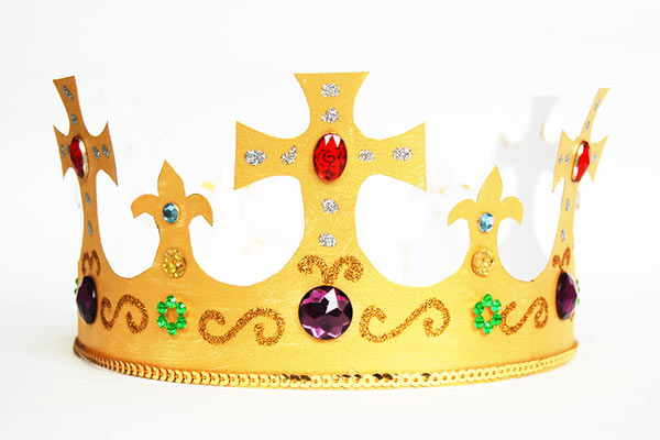 Embellished DIY crown for toddlers DIY Party Hats for Toddlers | Birthday & Festivals