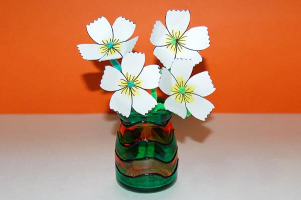 Stained glass crafts Spring Craft Ideas for Kids with Easy Tutorials