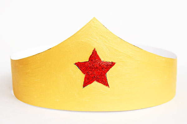 Wonder woman crown hat for toddlers DIY Party Hats for Toddlers | Birthday & Festivals