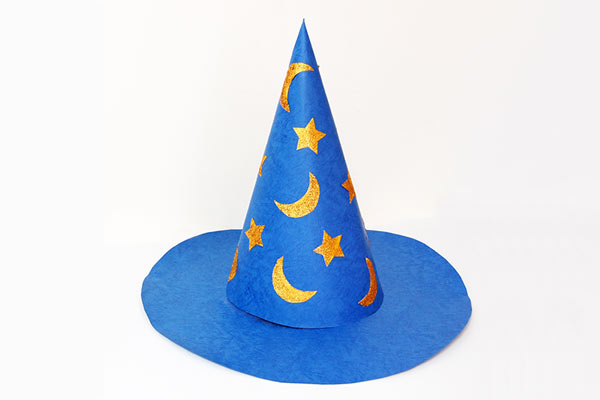 Wizard DIY hat for toddlers