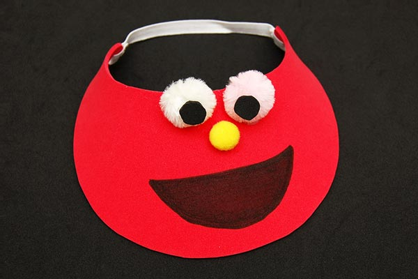 Crafty visors Birthday Party Craft Ideas