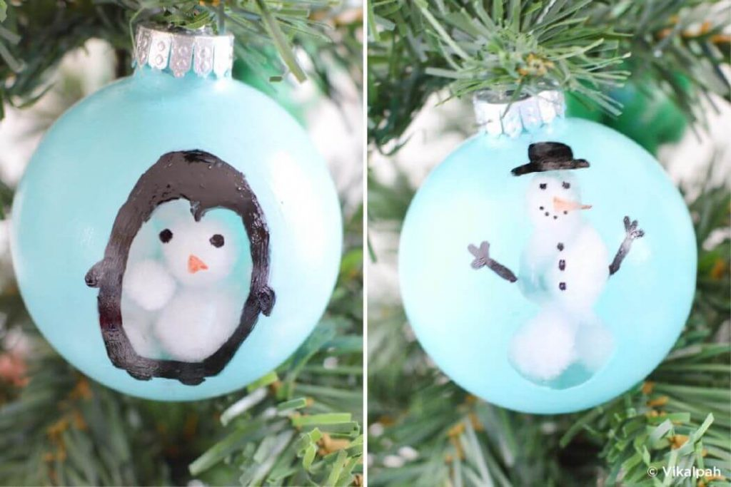 Creative Christmas Tree ball crafts Easy Christmas Craft Ideas for Kids