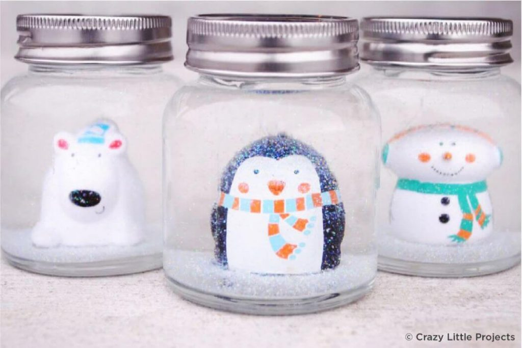 Jar crafts for Christmas Easy Christmas Craft Ideas for Kids