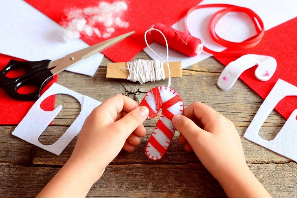 Using Foam for Christmas crafts Easy Christmas Craft Ideas for Kids