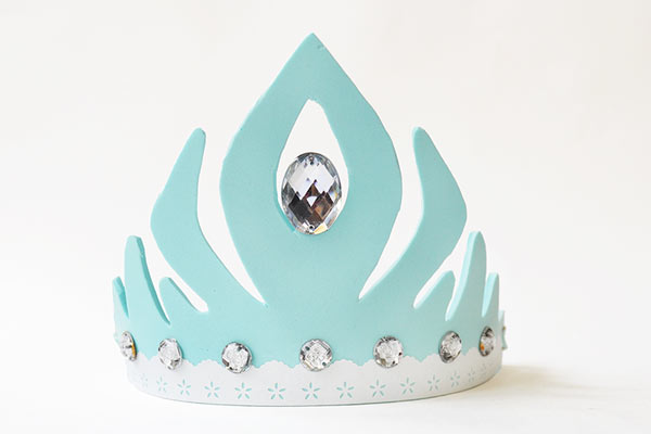Princess DIY party hat for toddlers
